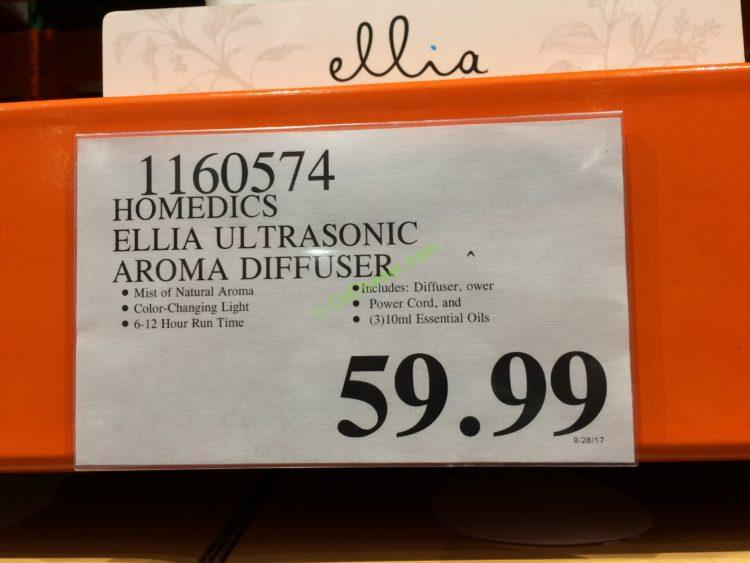 Costco-1160574-Homedics-Ellia-Ultrasonic-Aroma-Diffuser-tag2