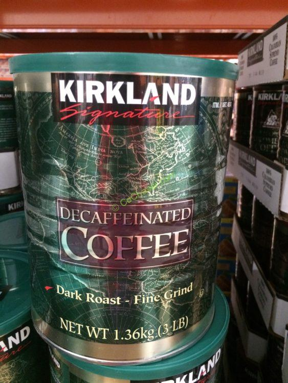 Kirkland Signature Decaf Arabica Coffee 3 Pound Can