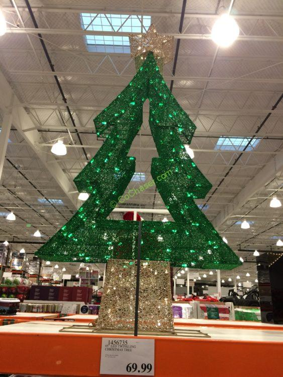 "65"" LED Twinkling Christmas Tree"