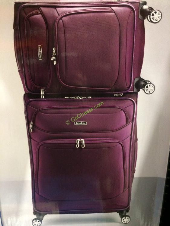 Samsonite Stackit 2.0 2 Piece Softside Set