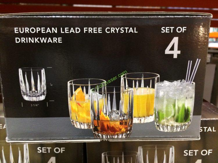 European Crystal Drinkware 4-piece Set