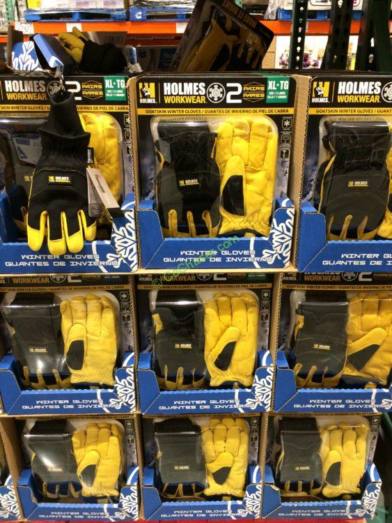 Mike Holmes Winter Goatskin Gloves 2PK