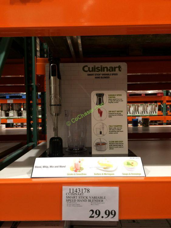 Cuisinart Smart Stick Variable Speed Hand Blender, Model# HB-120PC