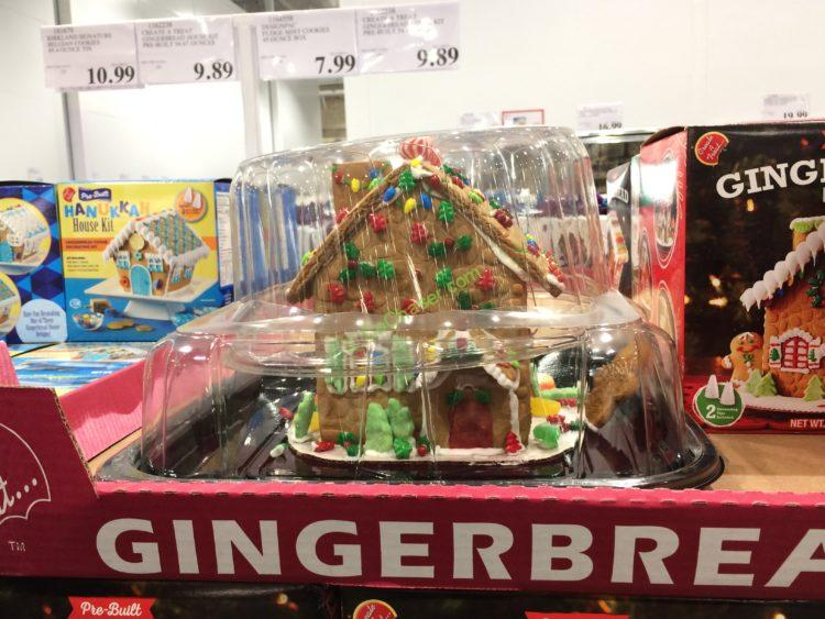 Create a Treat Pre-Built Gingerbread House Kit 54.67 Oz