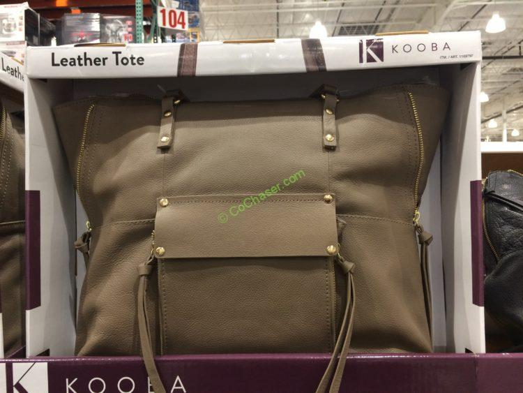 Costco 1169797 Kooba Leather Tote Bag Costcochaser