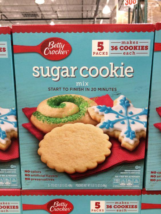 Betty Crocker Sugar Cookie Mix 5/17.5 Ounce Packages