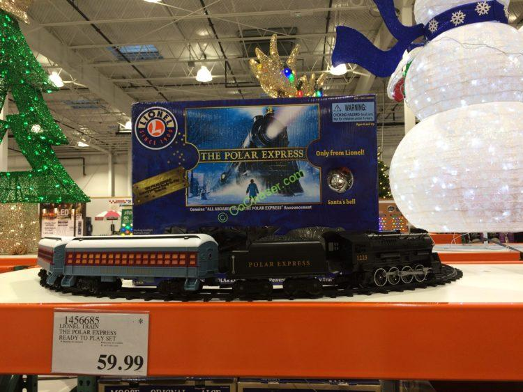 Lionel Train the Polar Express Ready to Play Set – CostcoChaser