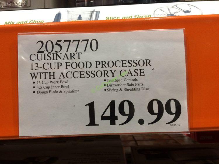 Costco Food Processor Price