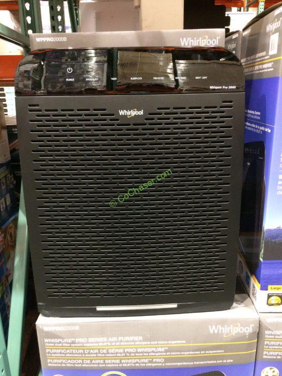 Whirlpool Air Purifier, Model#wppro2000b Costcochaser