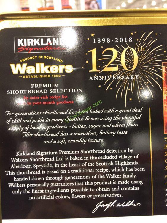 Costco 284101 Kirkland Signature Walkers Premium Shortbread