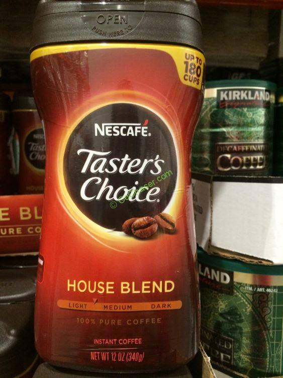 Taster S Choice Instant Coffee 12 Ounce Canister Costcochaser