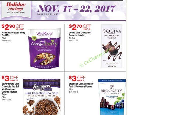 Costco Pre-Black Friday Holiday Sale: November 17 – 22, 2017