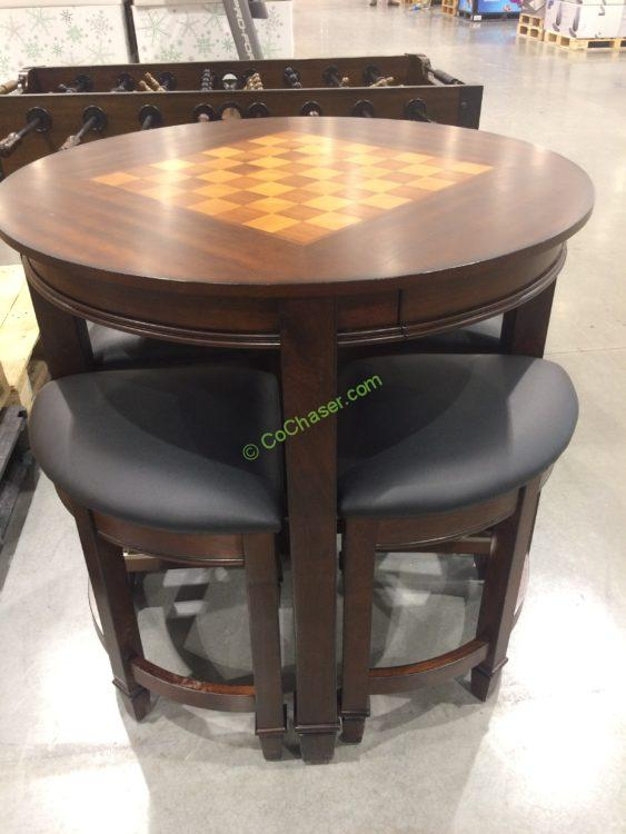 Costco 1074671 Well Universal 5pc Game Top Table Set1 Costcochaser