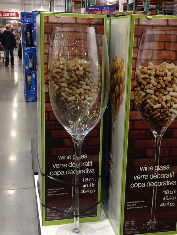 Wine Glass Decoratif
