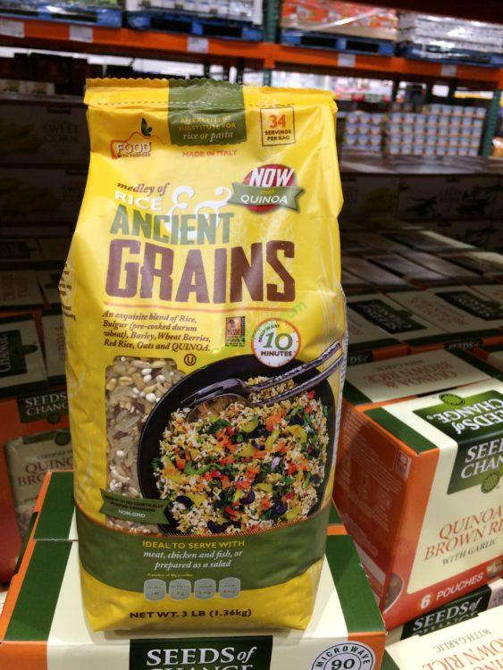 Food with Purpose Rice and Grain Medley 3 Pound Bag