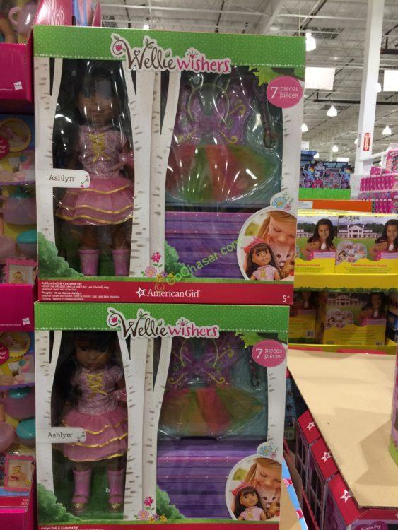 American Girl Wellie Wishers Doll Amp Costume Set Costcochaser