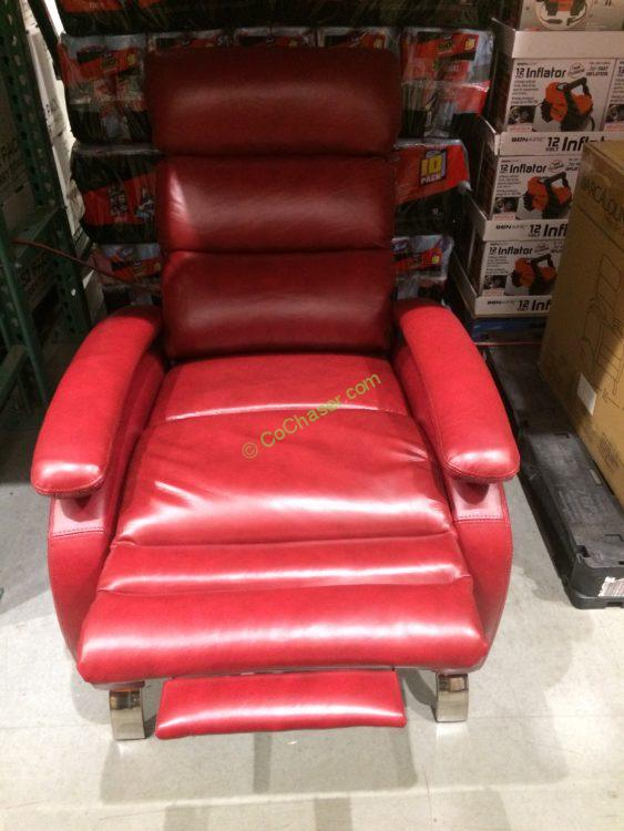Barcalounger Leather Pushback Recliner Costcochaser