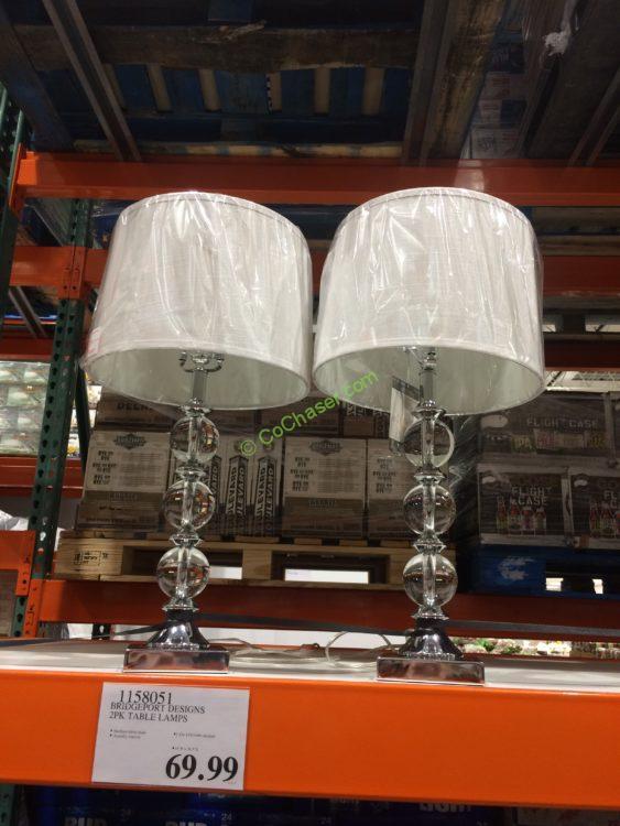 Bridgeport Designs 2pk Table Lamps Costcochaser