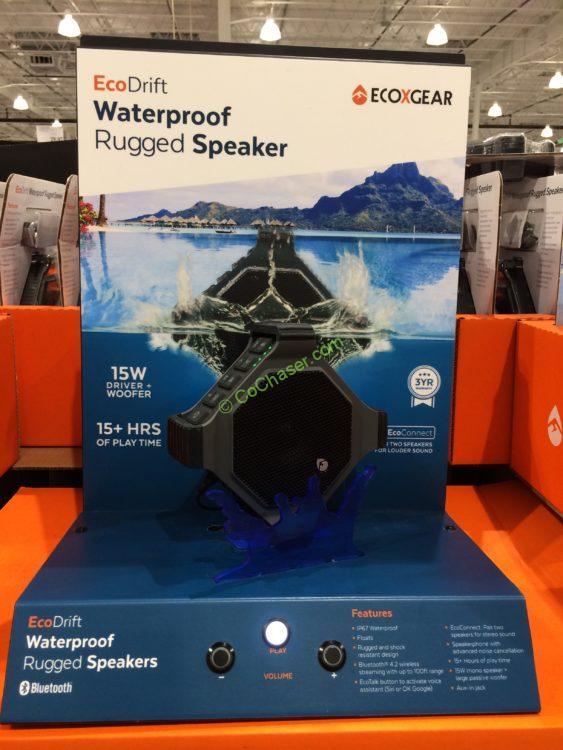 ECOXGEAR EcoDrift Waterproof Bluetooth Speaker