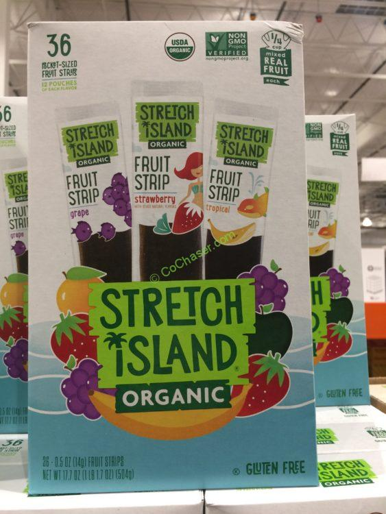 Stretch Island Organic Fruit Strips 36 Count Box
