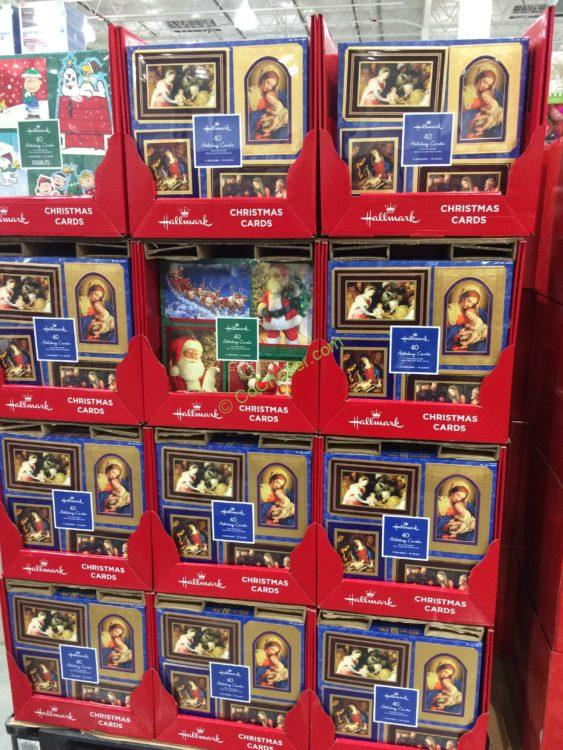 costco 1456756 hallmark christmas cards 40 count all - Costco Christmas Photo Cards