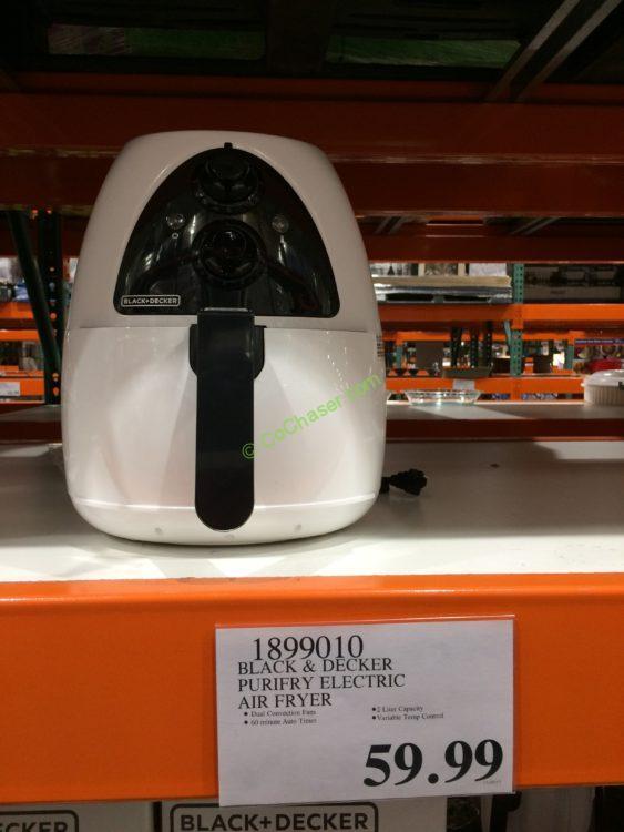 Black & Decker Purifry Electric Air Fryer, Model#HF100WCA