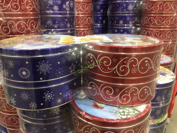 Kelsen Imported Danish Butter Cookies 4/1 Pound Tins
