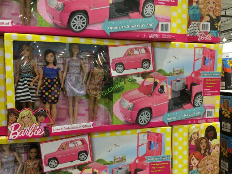 Barbie Limo & Fashionistas Gift Set