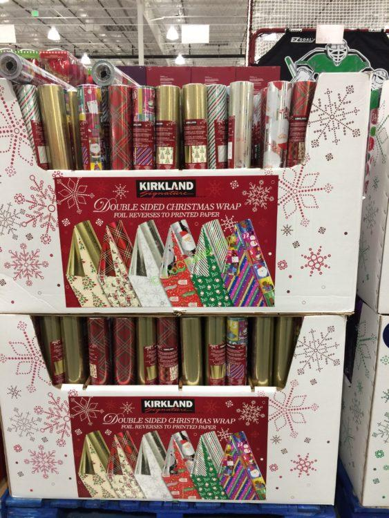 Kirkland Signature Double Sided Christmas Wrap Costcochaser