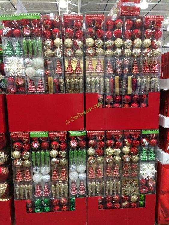 Shatter Resistant Ornaments 52 PC
