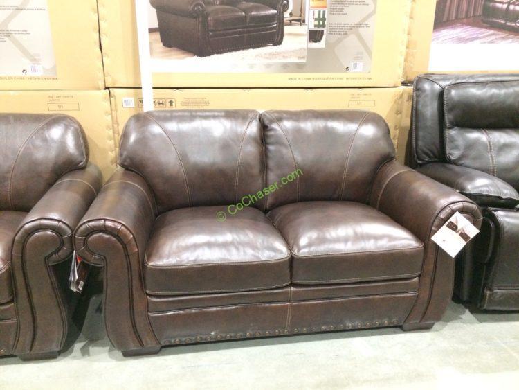 Simon Li Leather Sofa Amp Loveseat Costcochaser