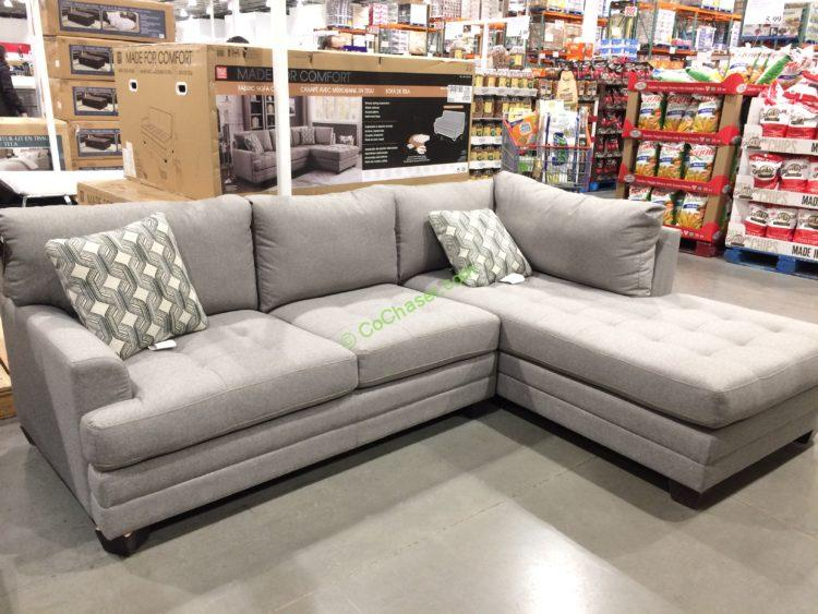 True Innovations Fabric Sectional Costcochaser