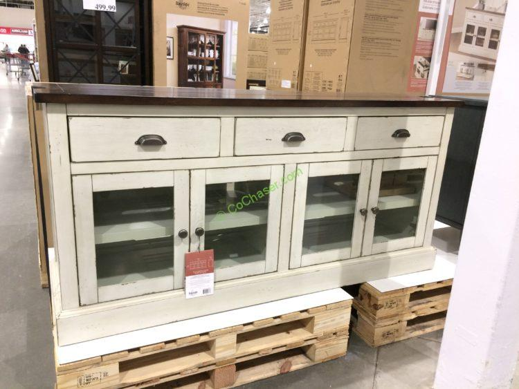 Costco 1049405 Bayside Furnishings 72 Accent Cabinet