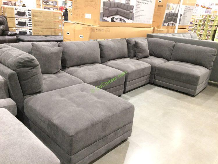 Costco 1158040 1158041 Bainbridge Fabric Sectional With