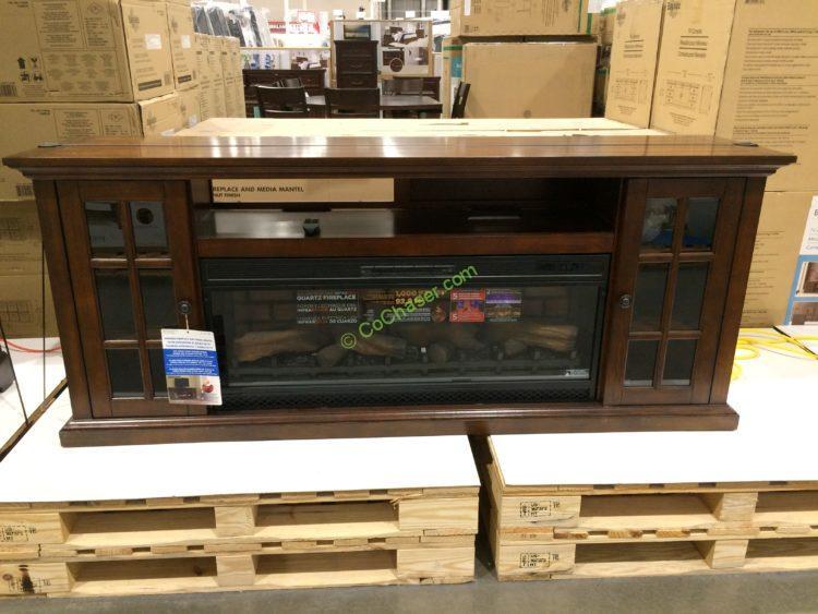 Tresanti 74 Fireplace Tv Console