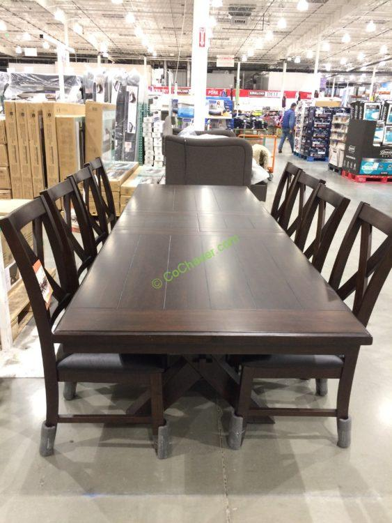 Bayside Furnishings 9PC Dining Set