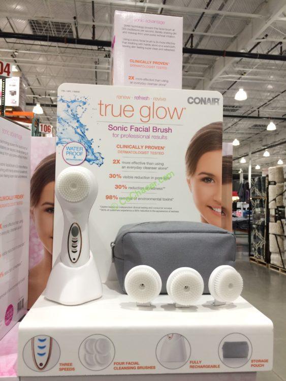Conair True Glow Sonic Facial Brush