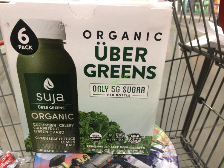 SUJA Organic Uber Greens 6/10.5 Ounce Bottles