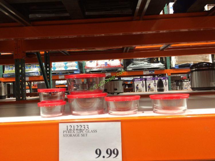 Pyrex 12PC Glass Storage Set