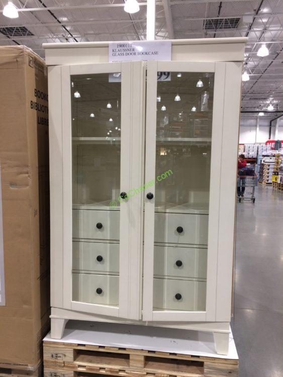 Klaussner Glass Door Bookcase Costcochaser