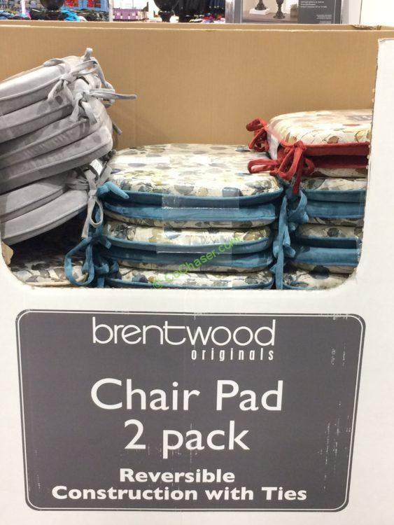Brentwood Chair Pad 2 Pack