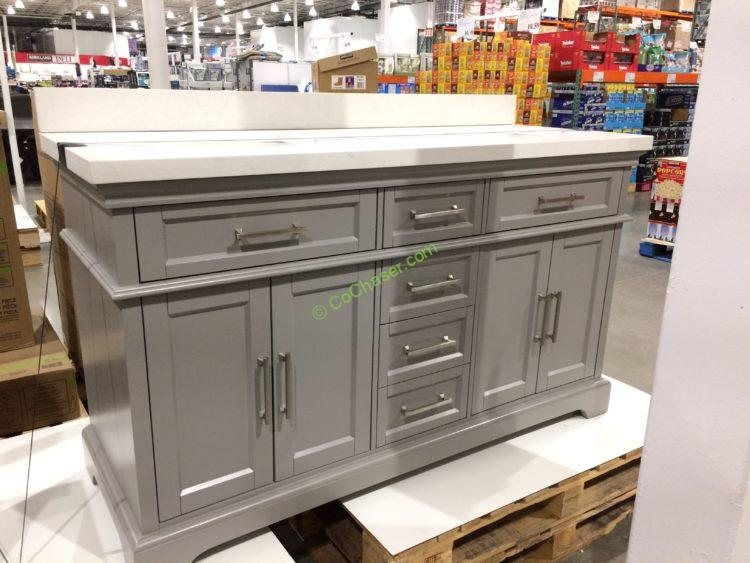 Costco-710120- Mission-Hills 60-Gary-Double-Sink-Vanity