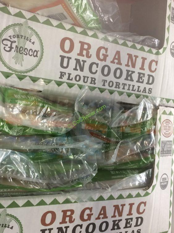 Costco 907160 Tortilla Fresca Organic Uncooked Flour Tortillas All Costcochaser