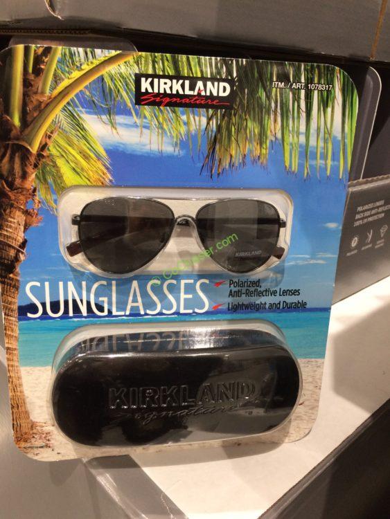 8491078503 Costco-1078317-1136863-Kirkland-Signature-Polarized-Sunglasses-Assorted -Styles-box