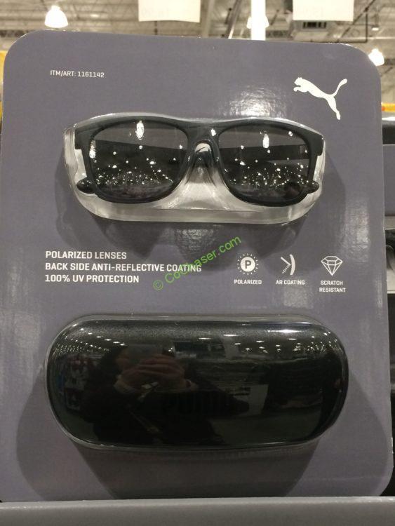 Puma Sunglasses Grey Polarized Lens