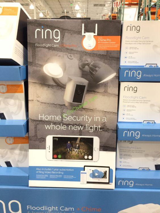 RING Floodlight Camera & Chime PRO