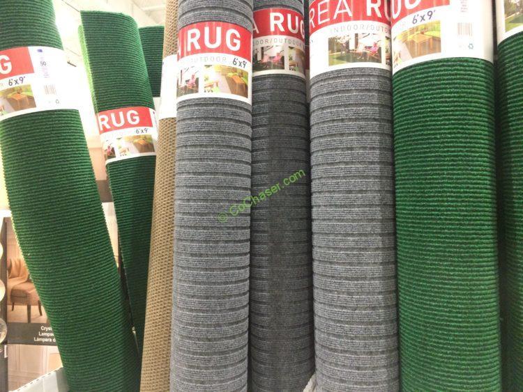 FOSS Floors Décor Indoor/Outdoor Area Rug 6' X 9'