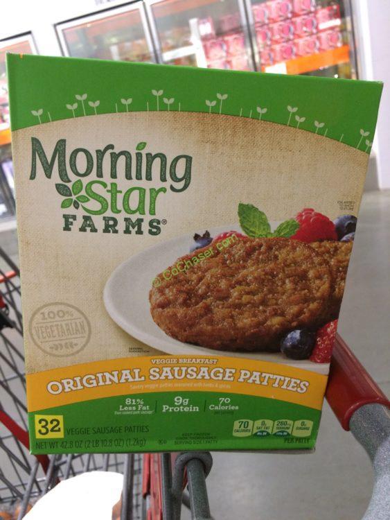 Morningstar Farms Veggie Sausage Patties 2.675 Pound Box