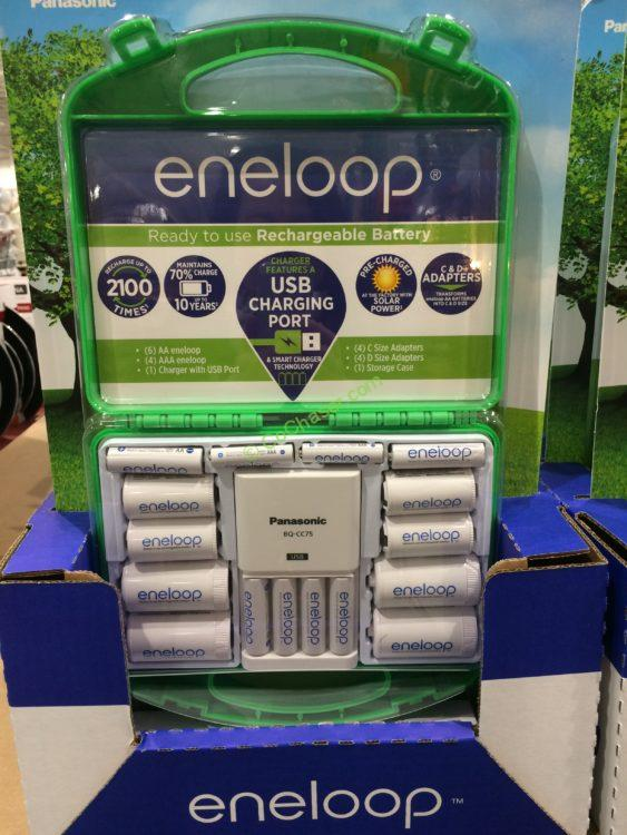 Panasonic Eneloop Rechargeable Battery Kit