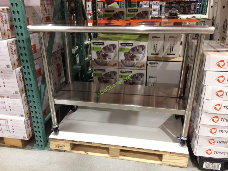 Costco-1049995-TRINITY-Stainless-Steel-Prep-Table